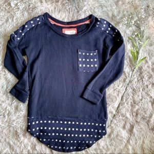 Anthropologie Saturday Sunday French Terry Swt Top